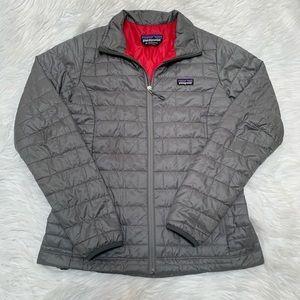 Patagonia Grey Nano Puff Jacket Medium
